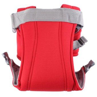 HKS Newborn Kid Infant Baby Carrier Backpack Front Back Rider Sling Comfort Wrap Bag (Red) - Intl