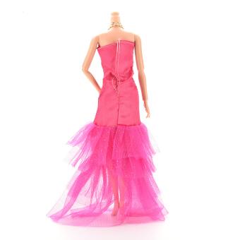 HomeGarden Fashion Fishtail Skirt For Barbie Doll Rose (Intl) - picture 2