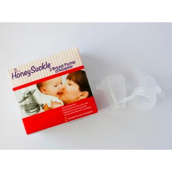 Honeysuckle Breast Pump Adapter (Clear)