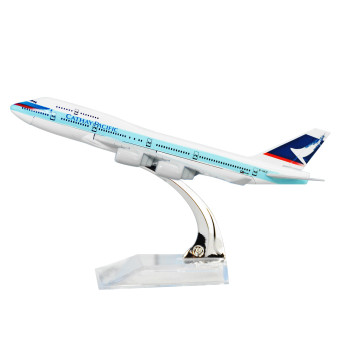 Hong Kong Cathay Pacific Boeing 747 16cm Metal Airplane ModelsChild Birthday Gift Plane Models Home Decoration - Intl - 2