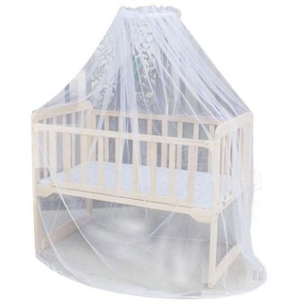 Hot Selling Baby Bed Mosquito Mesh Dome Curtain Net for ToddlerCrib Cot Canopy - intl Price Philippines