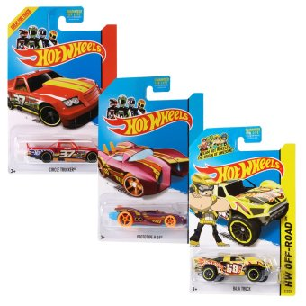 Hot Wheels Basic Car Buy 2 + 1 (Assorted)