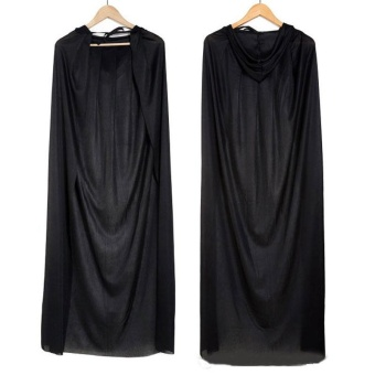 Hotsale Hooded Cloak Halloween Costumes Death Reaper Demon Vampire Dress - intl