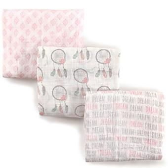 Hudson Baby Dream Catcher Muslin Swaddle Blankets