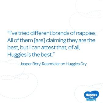 Huggies Dry Diapers Small - (38pcs) - 3