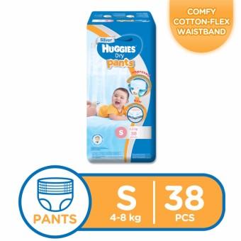 Huggies Dry Pants Small 38's