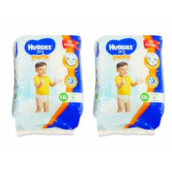 Huggies Dry Pants XXL 11's Pieces 020792 2's