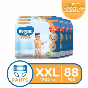 Huggies Dry Pants XXL - 22 pcs x 4 packs (88 pcs) Price Philippines