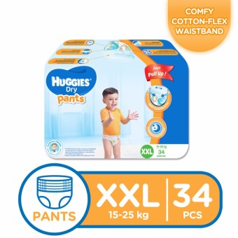 Huggies Dry Pants XXL - (34 pcs)
