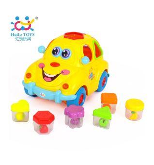 Huile Intelligents Fruit Car Blocks (Multicolor)