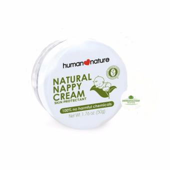 Human Nature Natural Nappy Cream Skin Protectant 50g Diaper Creamfor Babies