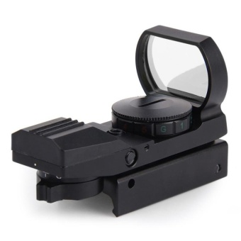 Hunting Water Resistant Shockproof Holographic Reflex Red GreenDotSight Scope 20mm 11 X 22 X 33 - intl Price Philippines