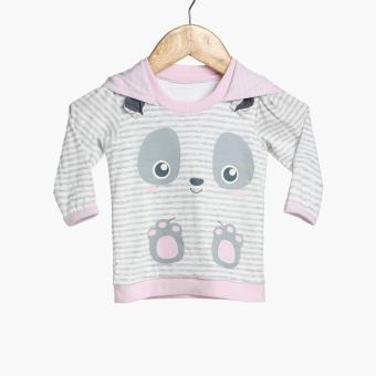 Hush Hush Baby Girls Panda Hoodie (Pink) Price Philippines