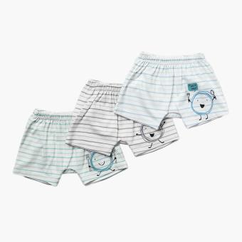Hush Hush Boys 3-piece Hungry Drop-crotch Shorts Set (Multicolored) Price Philippines