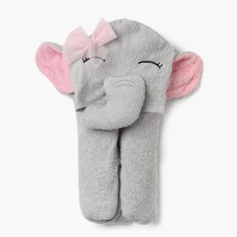 Hush Hush Elephant Hooded Towel (Gray) Price Philippines