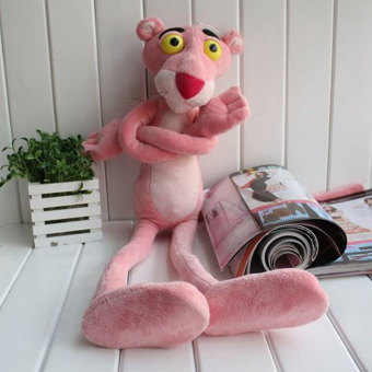 Harga Pink Panther Stuffed Toy Doll Home Decoration Bed Gifts For Child Plaything - intl