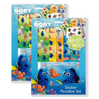 Harga Disney Stickers Paradise - Finding Dory - Pack of 2