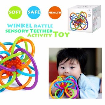 Harga Manhattan Toy Winkel Rattle and Sensory Teether