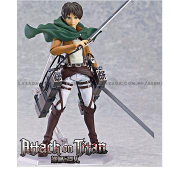 Attack on Titan (Shingeki No Kyojin) Eren Jaeger (Yeager) Full Maneuver Gear Collectible Action Figure Price Philippines