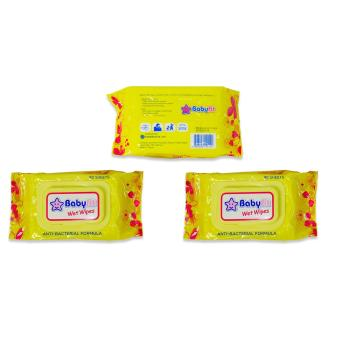 Baby Fit Wet Wipes 80's 3's 151422 Price Philippines
