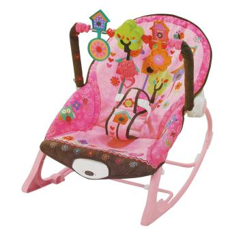 Harga Unicorn Forest Owl Newborn-to-Toddler Portable Cute Rocker (Pink)