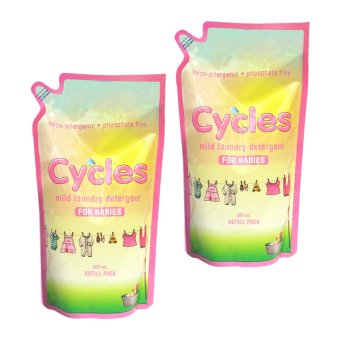 Cycles Mild Laundry Detergent for Babies Refill Pack (800mL x 2pcs) Price Philippines