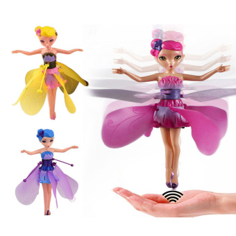 YBC New DIY Flying Fairy Dolls for Girls Learning Education Infrared Induction Control - intl Price Philippines