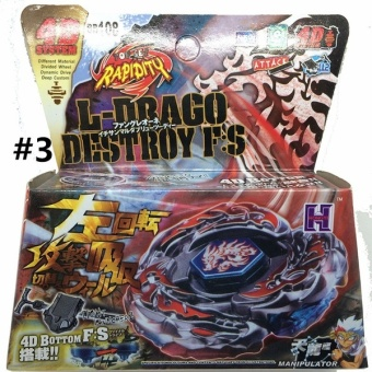 Toys Gift Metal Fusion Masters Beyblade Rapidity Fight Launcher Rare Toy Set 4D for Children with Launcher(color:Multicolor)(size:3) Price Philippines