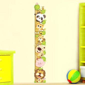 Cartoon Wall Sticker Height Growth Chart Decal Home Paper Kids Boys Girls Height Measurement Price Philippines