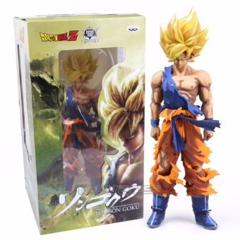 Harga DRAGON BALL Z Son Goku Super Master Star Piece