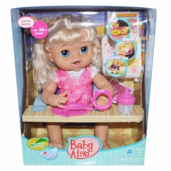 Harga Talking Doll My Baby Alive (Pink)