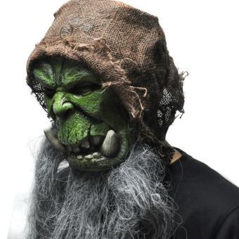 Orcs Guldan Masks Game Movie Cosplay Prop Adult Scary Latex Mask for Halloween - intl Price Philippines