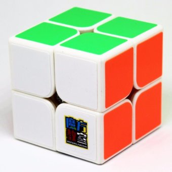 Harga Moyu MoFang JiaoShi MF2S 2x2x2 Rubik's Speed Magic Cube Puzzles White