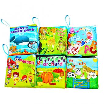Asenso Baby Colorful Early Education Cloth Book Series Set of 6 Price Philippines