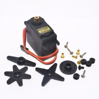 Harga Original TowerPro MG995 Servo 100% Metal (Black)