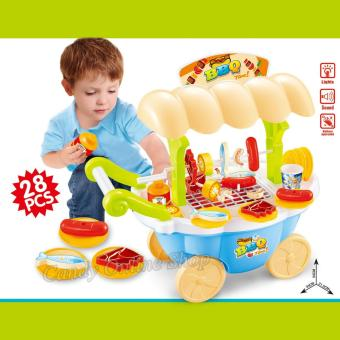 BBQ Cart Play Set Children's Educational Toys Price Philippines