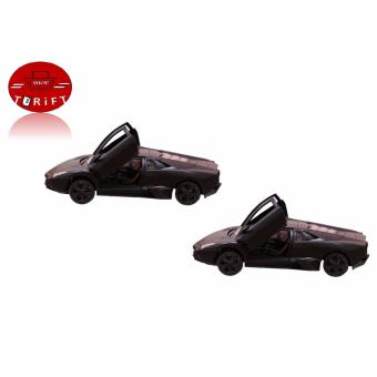 Harga SHOP AND THRIFT 2 Sets of Die Cast Toy Car Scale 1:36 (Black)