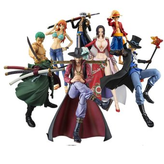 MegaHouse Variable Action Heroes One Piece Luffy Sabo Zoro Sanji NAMI Boa Hancock Anime PVC Action Figure Collectible Model Toy - intl Price Philippines