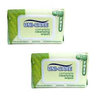 Uni-Care Complete Cleansing Wipes 90 Sheets Pack of 2 Price Philippines