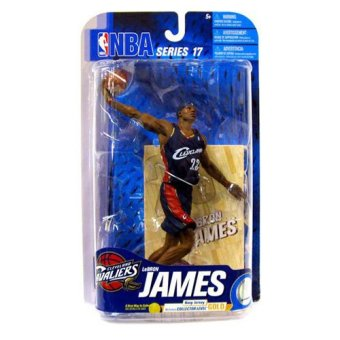 McFarlene NBA Series No. 17 Cleveland Cavaliers Lebron James Price Philippines