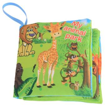 Hang-Qiao Colorful Baby Early Education Cloth Book Animal Park Learning Picture Price Philippines