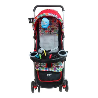 Toy Collections Irdy Reversible 3-Way Stroller (Red) Price Philippines