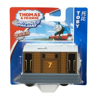 Thomas & Friends Motorized Railway Engine Toby Price Philippines
