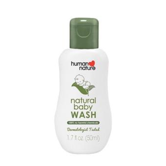 Harga Human Nature Baby Wash 50ml
