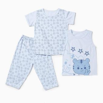 Nap Boys Cat Pajama Set (Blue) Price Philippines