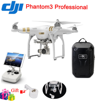 DJI Phantom 3 Professional HD 4K Camera Drone With Waterproof Blackpack Series - Intl Price Philippines