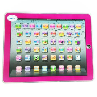 Harga Ypad Multimedia Learning Computer Toy Tool (Pink)