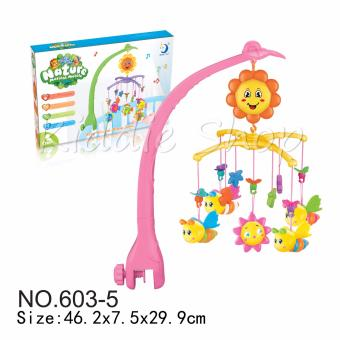 Harga 603-5 Baby Musical Mobile Series (PINK,GREEN)