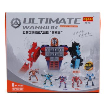 5 piece Ultimate Warrior Robot Collection Assembly Toy Set Price Philippines