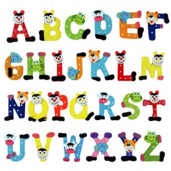 Amango Alphabet Wooden Fridge Magnet 26pcs Price Philippines